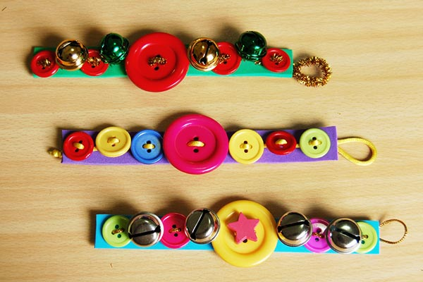 Button Bracelet craft