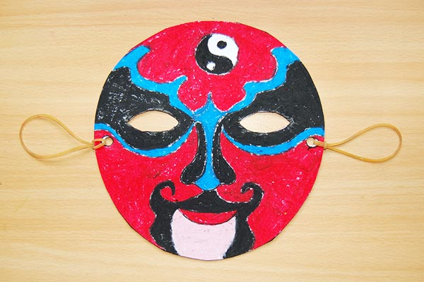 Chinese Opera Mask craft