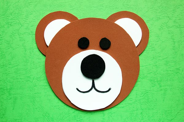 Circles Bear craft