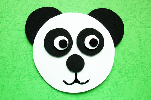 MORE IDEAS - Make a panda bear.