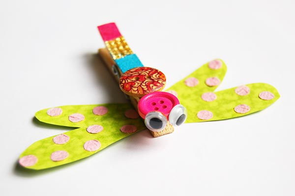 Clothespin Dragonfly