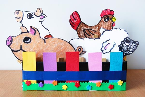 Box Zoo Kids Crafts Fun Craft Ideas Firstpalette Com