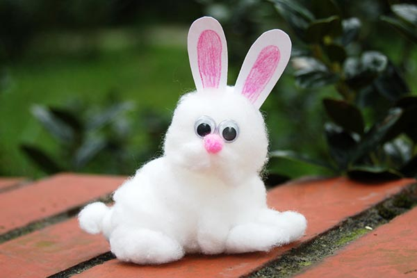 Cotton Bunny craft