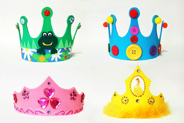 Craft Foam Crown craft