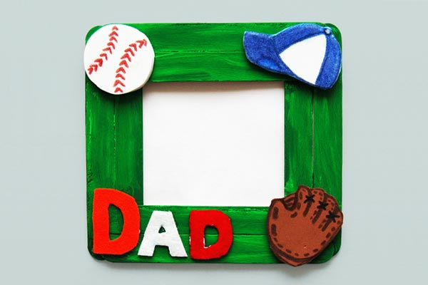 Craft Stick Photo Frame craft