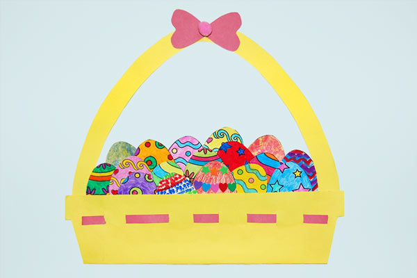 Creative Paper Eggs craft