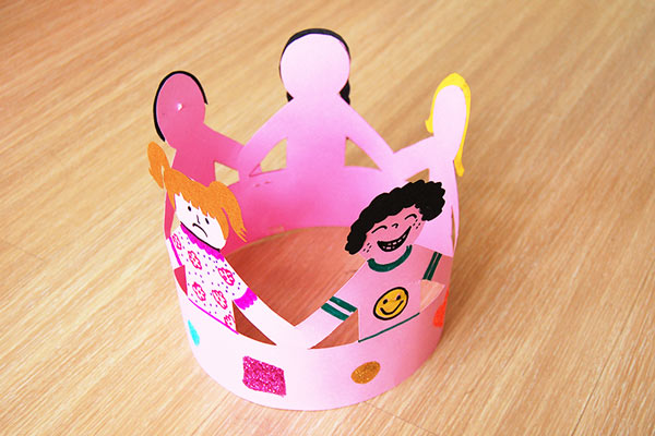 Crown of Friends craft