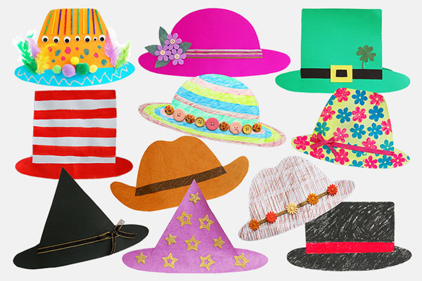 Easy Paper Hats craft