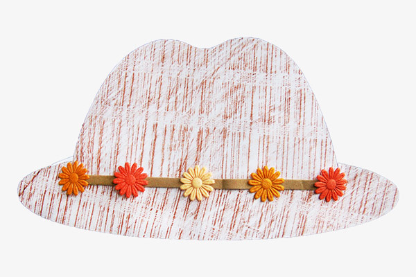 MORE IDEAS - Create textured hats.