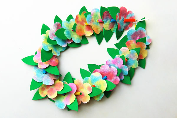 Flower Lei craft