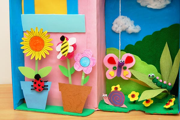 Garden Diorama craft
