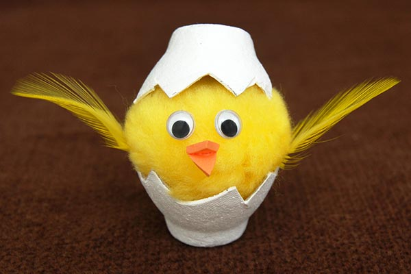 Hatched Chick craft