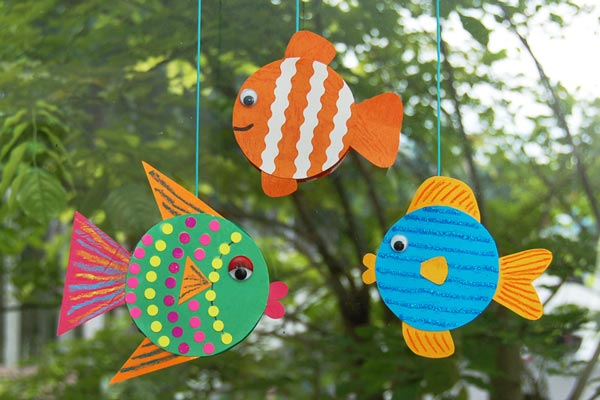 Jar Lid Fishes