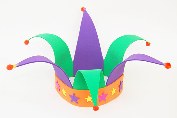 Jester 39 s Hat Template Free Printable