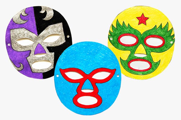 Luchador Paper Mask
