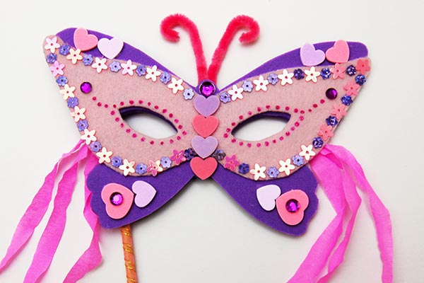 Masquerade Masks craft