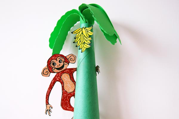 Monkey Tree craft