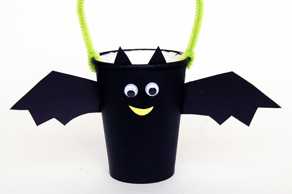Paper Cup Bat Basket