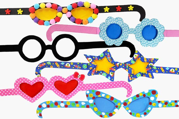 Paper Eyeglasses craft