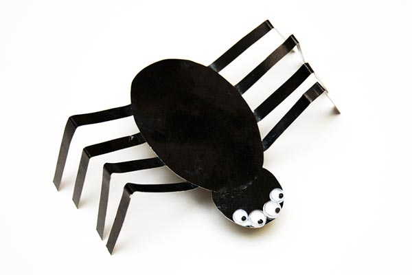 Paper Spider craft