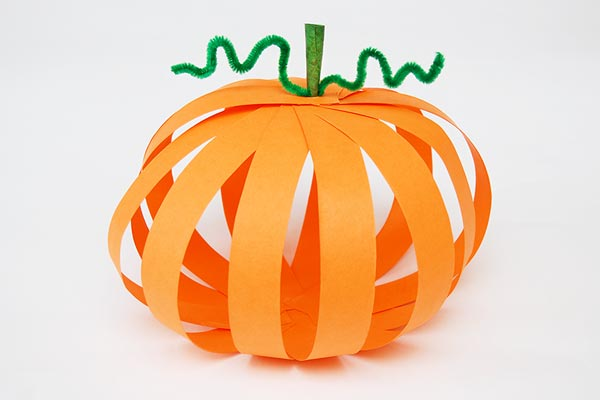 Paper Strip Pumpkin