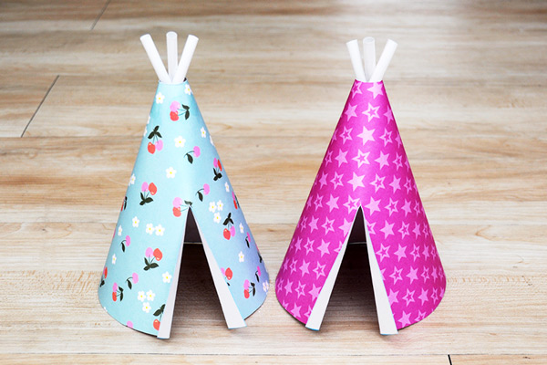 MORE IDEAS - Use patterned cardstock.