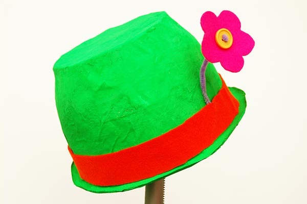 Papier Mache Hat craft