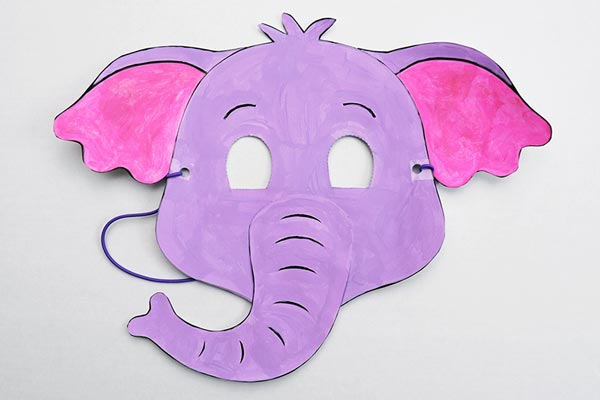 Printable Elephant Mask craft