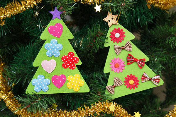 MORE IDEAS - Decorate a mini paper tree.