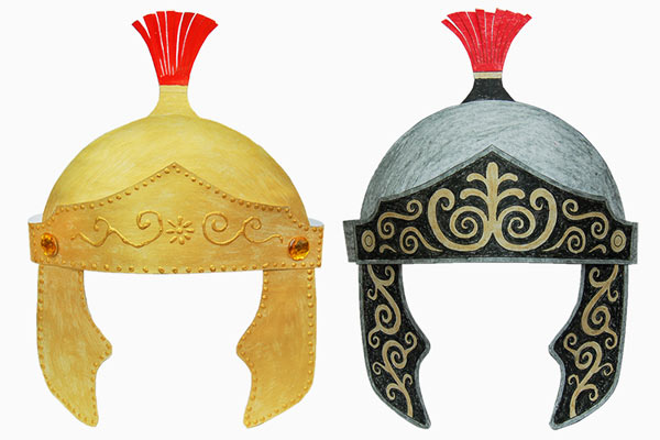 Roman Imperial Helmet craft
