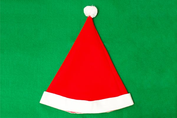 Santa Felt Hat craft