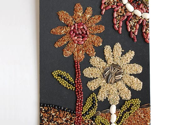 Seed Mosaic craft