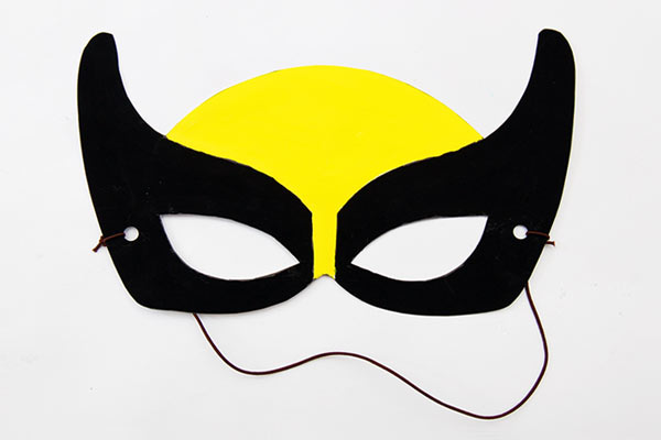 Superhero Masks craft