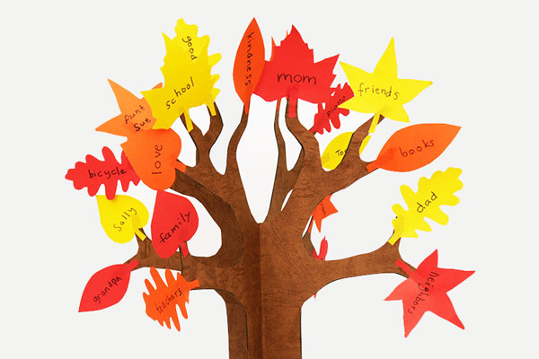 Thankful Tree craft