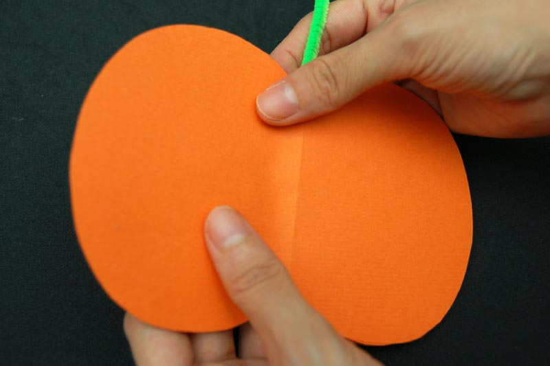 STEP 12 3D Paper Pumpkin