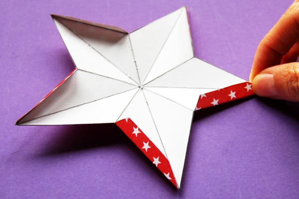 STEP 4 3D Paper Star