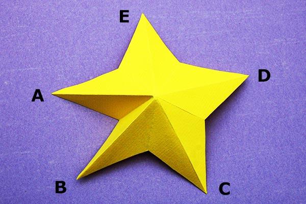 3d Paper Star Kids Crafts Fun Craft Ideas