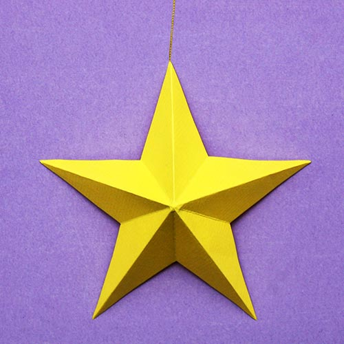 STEP 6 3D Paper Star
