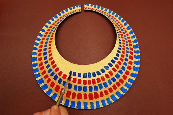 STEP 8 Ancient Egyptian Collar