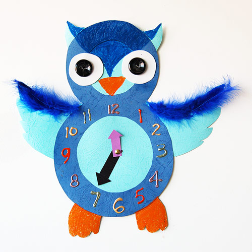MORE IDEAS - Owl Clock
