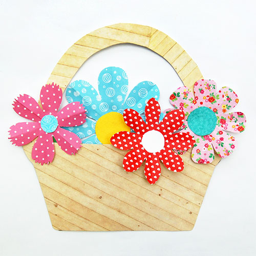 Use patterned cardstock.