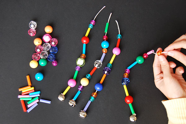STEP 8 Beaded Wind Chimes