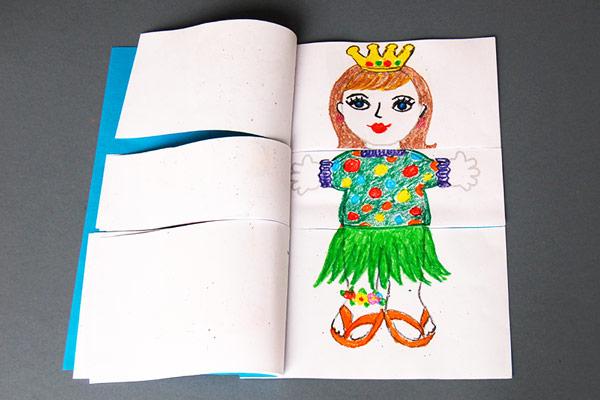 Body Flipbook Kids Crafts Fun Craft Ideas
