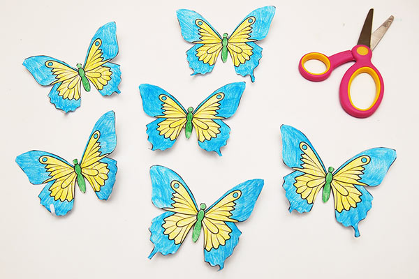 STEP 3 Butterfly Crown