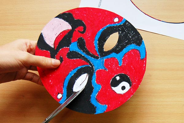 STEP 4 Chinese Opera Mask