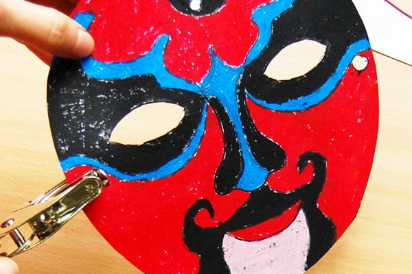 STEP 6 Chinese Opera Mask