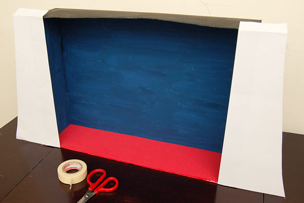 Step 6 Circus Diorama and Puppet Theater