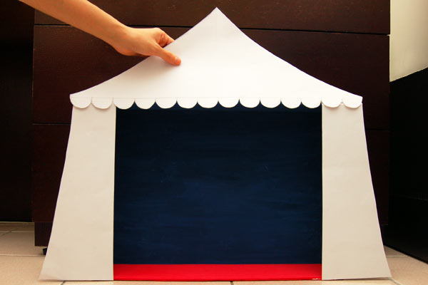 Step 7 Circus Diorama and Puppet Theater