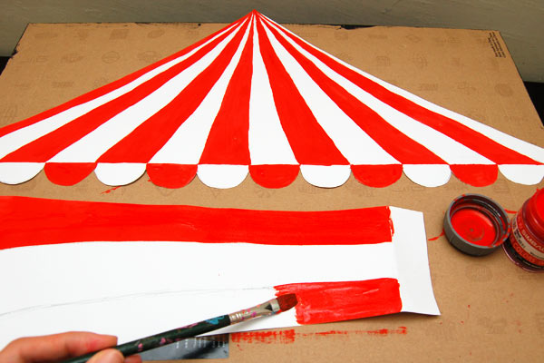 Step 8 Circus Diorama and Puppet Theater