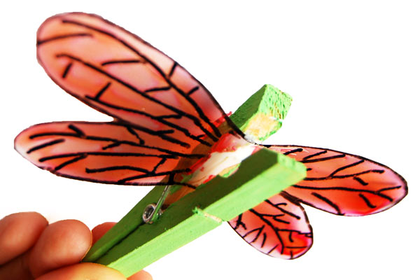 STEP 5 Clothespin Dragonfly
